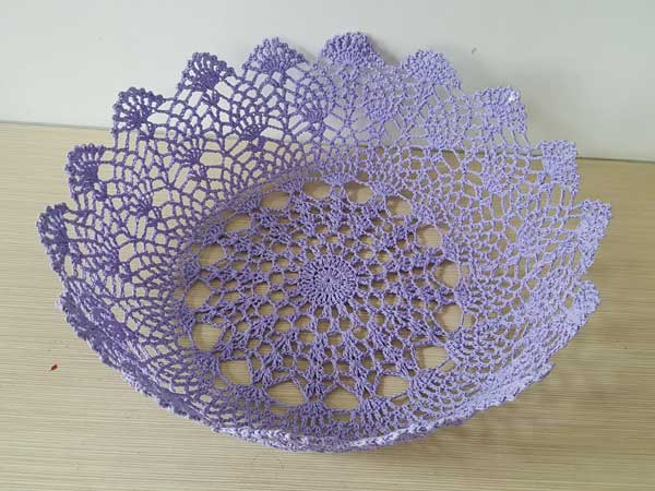 broche lace basket (1) - Baby photography props