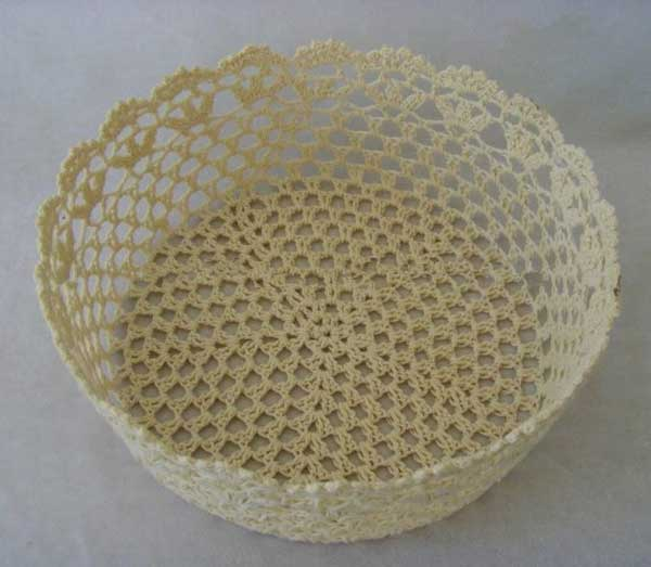 broche lace basket (4) - Baby photography props