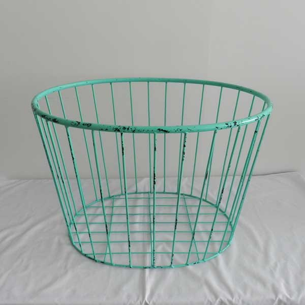metal basket (13) - Baby photography props