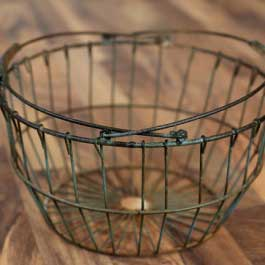 metal basket (17) - Baby photography props