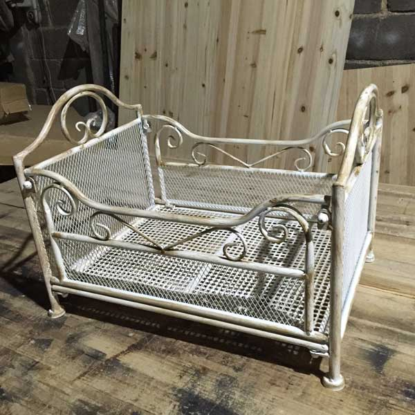 metal doll bed (2) - Baby photography props