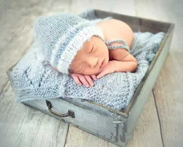 wooden bowl (14) - Baby photography props