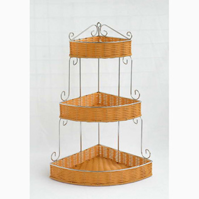 bathroom ratta basket - outdoor + garden products