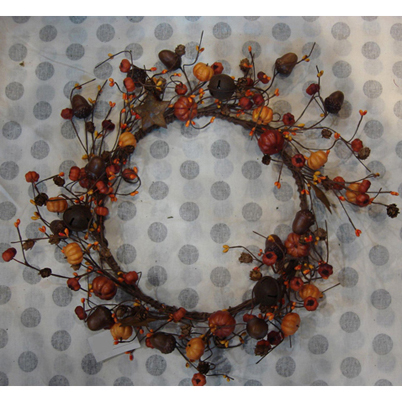 bell star wreath - outdoor + garden products