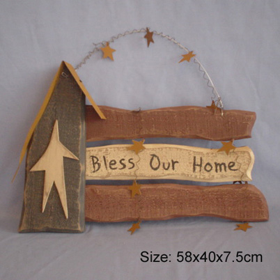 wood sign board - outdoor + garden products