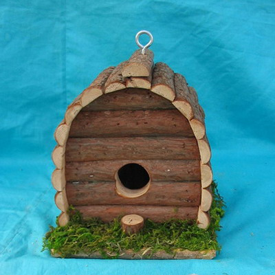 wood hummingbird house - outdoor + garden products