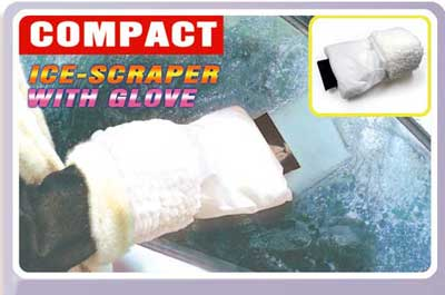 TCA230HBG compact ice scraperglove - Car Accessories