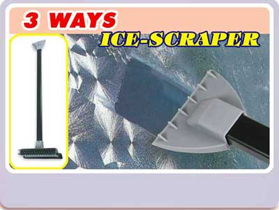 TCA2388 3 ways ice scraper - Car Accessories
